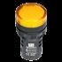 P/light w/LED-Yellow 24Vac/dc